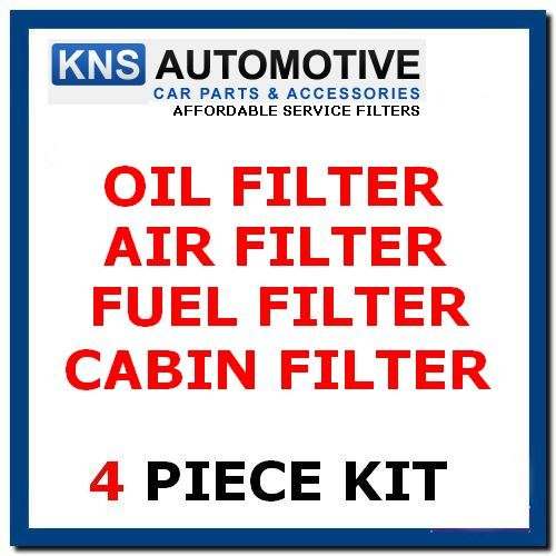 Oil,Air,Pollen & Fuel Filters ServIce Kit: