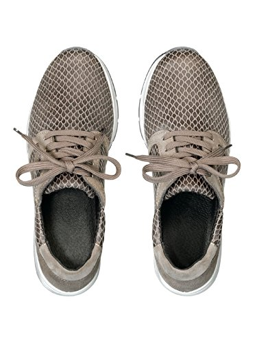 Avena Damen Hallux-Sneaker 180 Grad Braun Gr. 36
