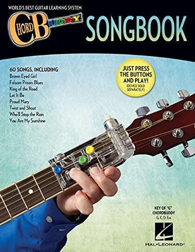 ChordBuddy Guitar Method Song Learn to Play Present Guitar SHEET MUSIC BOOK