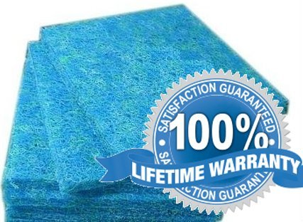 Japanese Filter Mat Premium Grade Pad Media for Koi and Pond Filters - Lifetime Guarantee by Cz Garden Supply