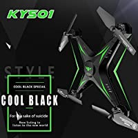 Nacome KY501 6-Axis Gyro 2.4G 4CH Real-time Images Return RC FPV Quadcopter Drone Wifi With 0.3mp HD Camera One-press Return