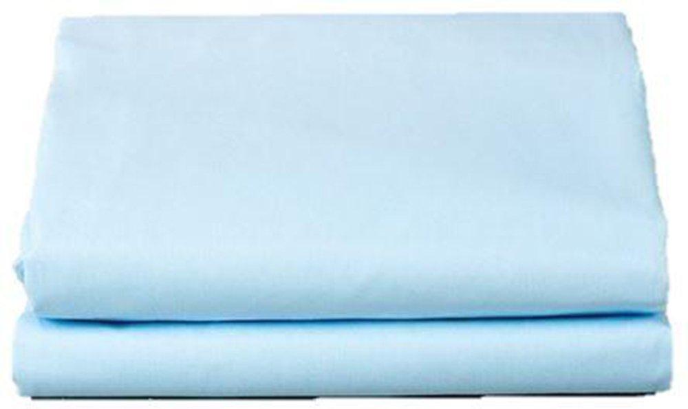 1 Dozen T180 Solid Color Draw Sheets (54x81, BLUE)
