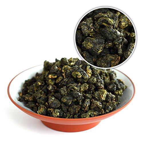 GOARTEA 100g (3.5 Oz) Organic Supreme Taiwan High Mountain Tung Ting TungTing Dong Ding DongDing Wulong Oolong Tea - Ting Oolong Tea