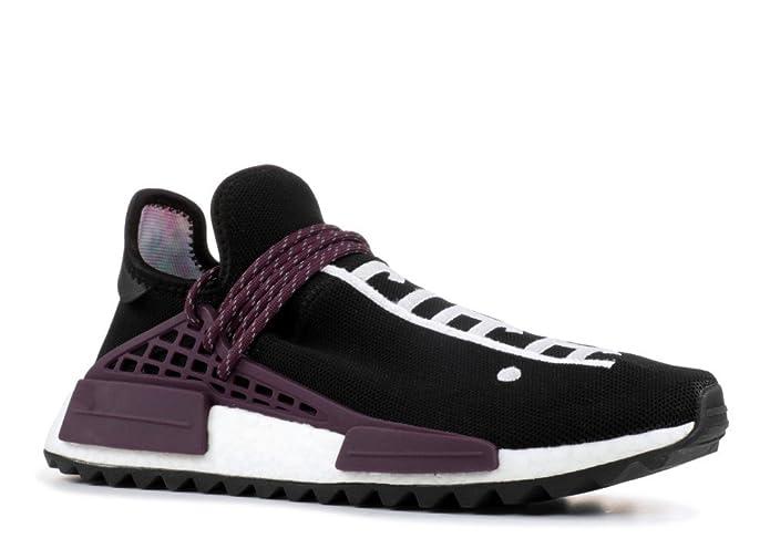 new concept b53b6 6a29e Amazon.com   adidas Pw Human Race NMD Tr  Equality  - Ac7033 - Size 11  Black, Plum   Shoes