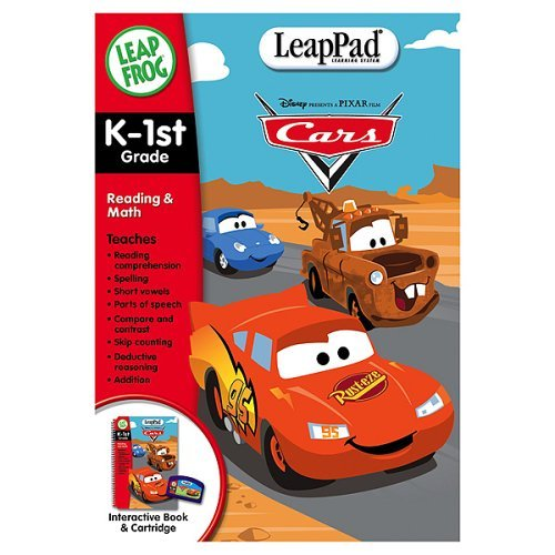 LeapFrog LeapPad Educational Book: Cars by LeapFrog (Image #1)