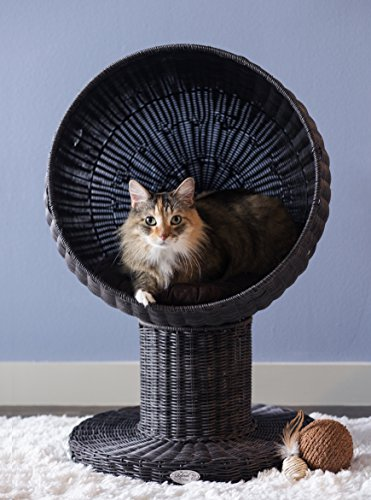 The Refined Feline's Kitty Ball Cat Bed ()