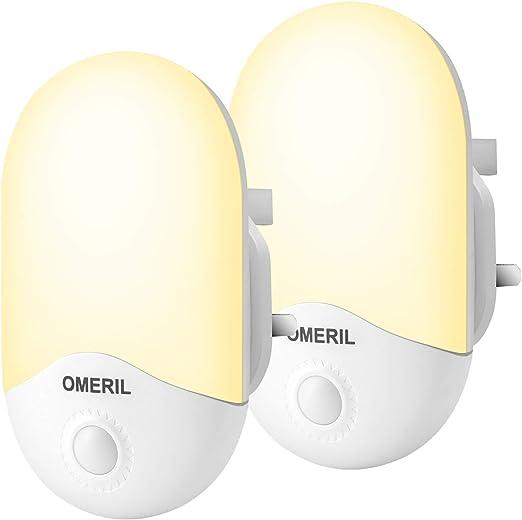 Automatic Sensor Led Night Light UK Plug In Low Energy Child Safety Light