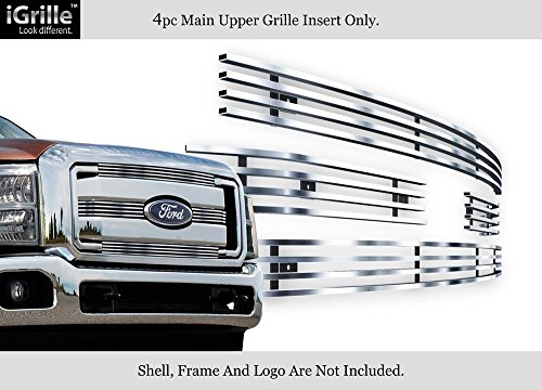 APS Fits 2011-2016 Ford F-250/F-350/Lariat/King Ranch Stainless Steel Billet Grille #F66827C