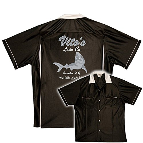 Vito's Loan Company Stock Print on Classic Bowler (Shirt Classic Bowling)