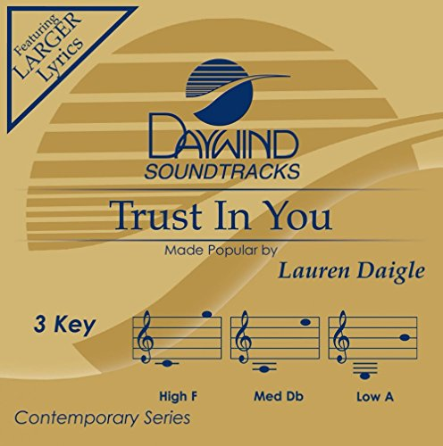 Music : Trust In You - Performance Track