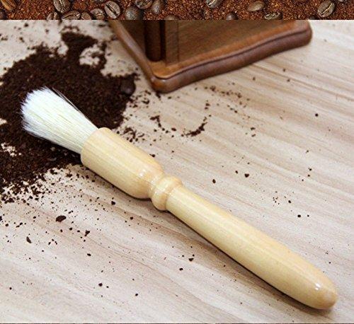 GINOVO Coffee Grinder Brush - 7.5
