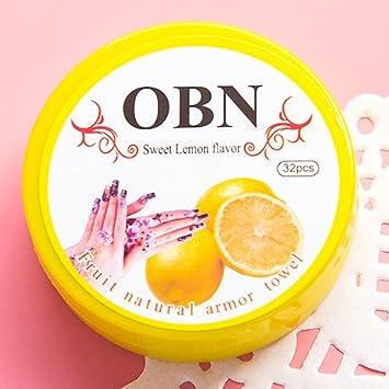 CWAIXX Accesorios uñas uñas Kit armour toalla lavado uñas Pegatinas pegatinas uñas esmalte de uñas removedor