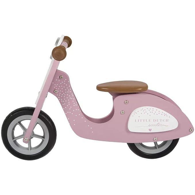 Amazon.com: Little Dutch - Patinete de madera para bicicleta ...