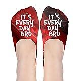 It's EverydayBro Polyester Cotton Deodorant Ankle Socks Non Slip Socks For Women Girl