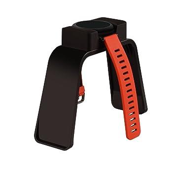 amazfit huami Smartwatch Móvil, itorrent carga estación de carga Cuna soporte Clip soporte de plástico Premium cargador cable de carga para amazfit ...
