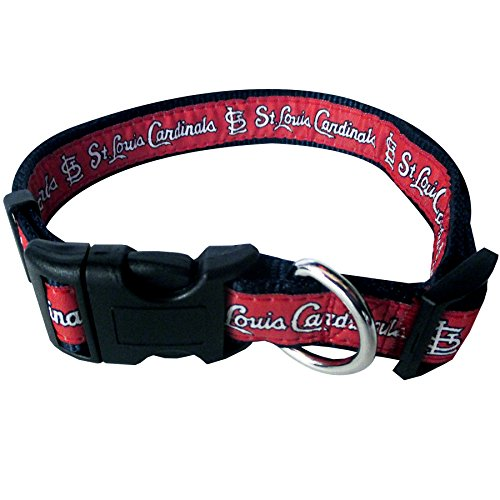MLB SAINT LOUIS CARDINALS Dog Collar, Medium