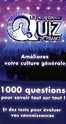 Le plus grand quiz de France : 1000 questions pour savoir tout sur tout par Lafon
