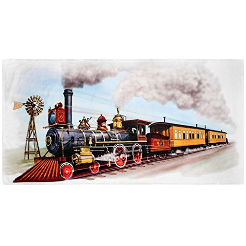 Shirts That Go Little Boys Old West Steam Train Bath and Beach - Tank Towel The Beach Engine Thomas