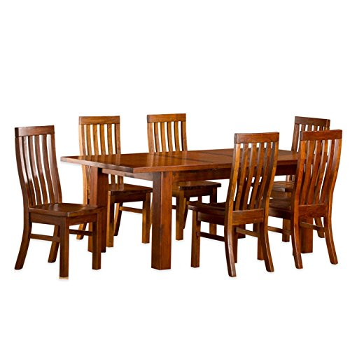 7-Piece Dining Set with Leaf