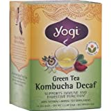 Yogi Green Tea Kombucha Decaf Tea by Yogi