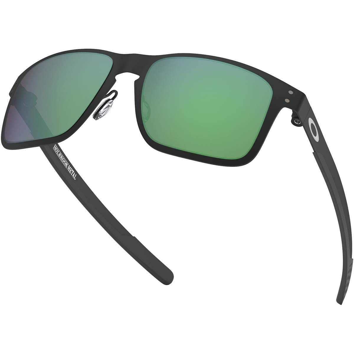 5da874c157 Amazon.com  Oakley Men s Holbrook Metal Non-Polarized Iridium Square Sunglasses  MATTE BLACK 55.0 mm  Oakley  Clothing