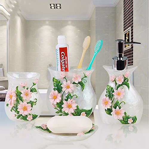 WYMBS Continental creative bathroom accessories bath ornaments country-style home decor with part B