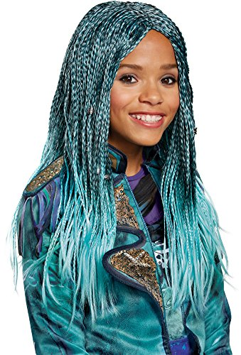 B Costumes Fancy Dress (Disney Descendants 2 Uma Child Wig)