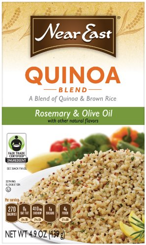 Near East Rosemary and Olive Oil Quinoa, 4.9-Ounce (Pack of 6)