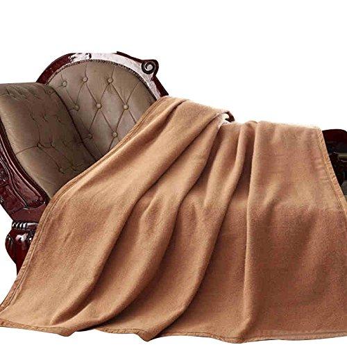 BDUK Doppelzimmer Winter Decke Decken reine Farbe minimalistischen modernen Wind Wolldecken Decken Einzelbett