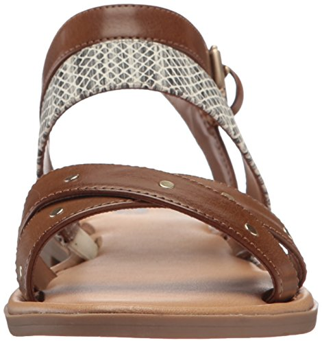 Dr. Scholls Shoes Womens Evelyn Gladiator Sandal Carmel / Snake Print