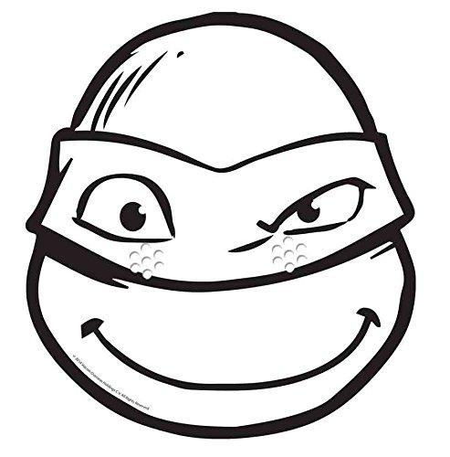 Máscara de cartón para adulto donatello © ninjaa colorear ...
