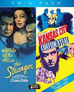 Blu-Ray Twin Pack: Kansas City Confidential & The Stranger