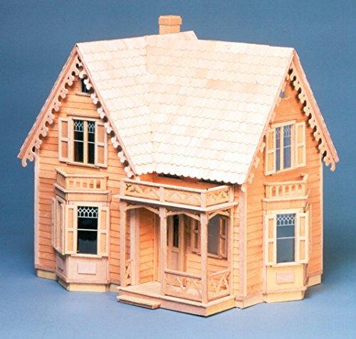 Greenleaf Doll Houses Greenleaf Dollhouse Kit, Westville