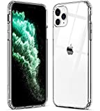 Electronics : Mkeke Compatible with iPhone 11 Pro Max Case, Clear iPhone 11 Pro Max Cover Shock Absorption Phone Cases 6.5 inch (Renewed)