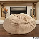 Product review for Christopher Knight 5-foot Faux Suede Bean Bag Chair, Camel