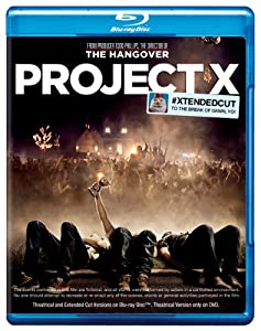 Cover Image for 'Project X (Blu-ray/DVD Combo + UltraViolet Digital Copy)'