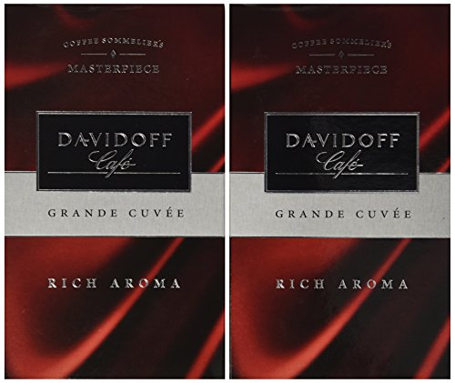 Davidoff Café 2 Pack Rich Aroma Ground Coffee 8.8oz/250g (Davidoff Cafe)