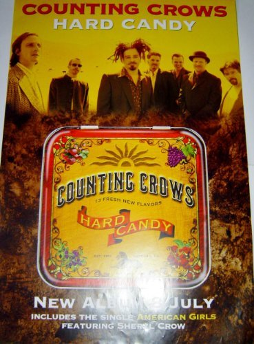 Counting Crows Hard Candy Original Poster by Wgtb