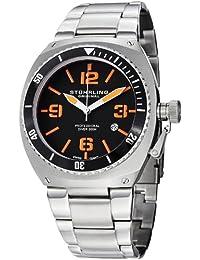 Stuhrling Original Men's 410.331157 Aquadiver Regatta DSV Diver Date Watch