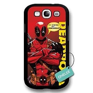 Deadpool Marvel comic superhero Hard Plastic for For LG G2 Case Cover - Black 1