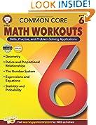 #4: Common Core Math Workouts, Grade 6