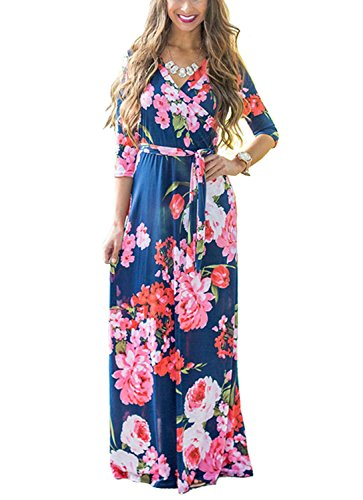 Fleur Epaule Robe plage Longue Robe Bandeau pour Dress Femme Rouge noir t Cocktail nu Imprim Fleurie Soire de Bustier Bohme Ceremonie fdzApdHnq