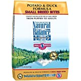 Natural Balance Small Breed Bites L.I.D. Limited Ingredient Diets Potato & Duck Formula Dry Dog Food, 12-Pound