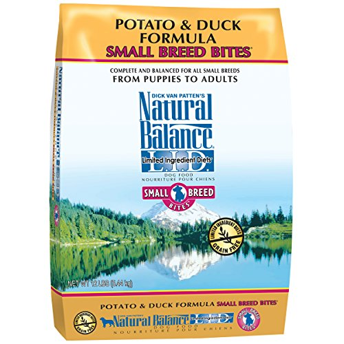 Natural Balance Small Breed Bites L.I.D. Limited Ingredient - Grain Free Dog Food Small Bites