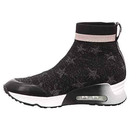 Boots 003 125842 Women's Ash S Black Black Black 6SgIZaw
