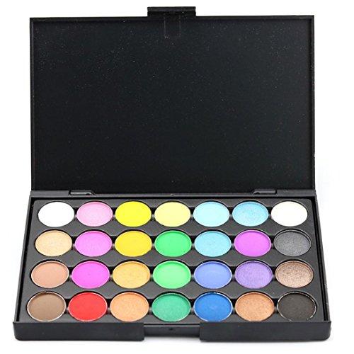 28 Colors Women Cosmetic Makeup Neutral Nudes Warm Eyeshadow