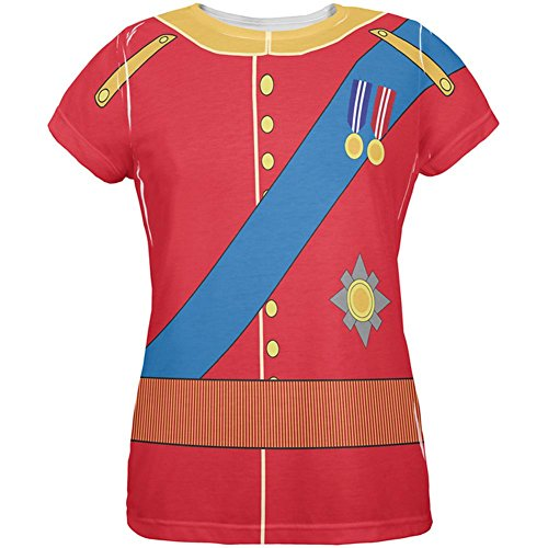 rming William Costume All Over Womens T Shirt Multi MD ()