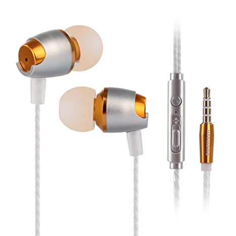 Review OUZIFISH Premium Metal Earbuds,