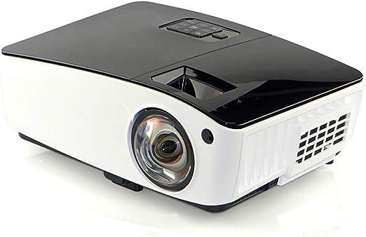 QinLL Proyector portátil con 4000 Lux LED Brillo, 1080p ...