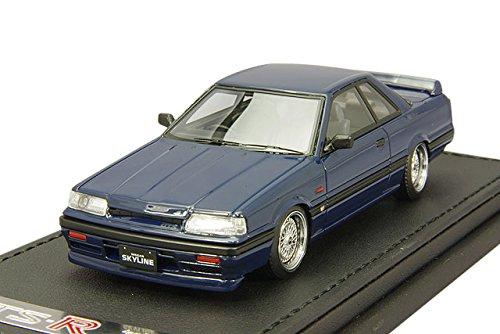 1/43 Nissan Skyline GTS-R R31 (ブルーブラック) IG0136